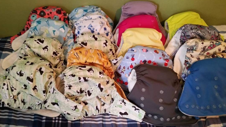Why We Chose a Cadillac Cloth Diaper Stash