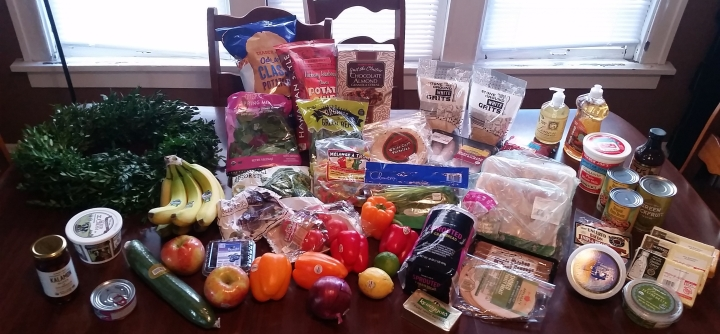 Grocery Haul + Menu Plan {Nov 27 – Dec 3, 2017}