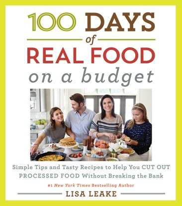 100 DAYS OF REAL FOOD BUDGET Cover