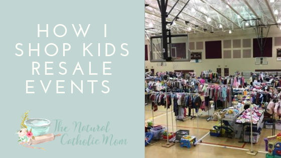 How I Shop Kid's Resale Events