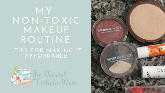 Non-Toxic Makeup Routine