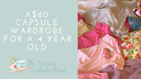 $60 Capsule Wardrobe for a 4 Year Old – Spring/Summer Edition