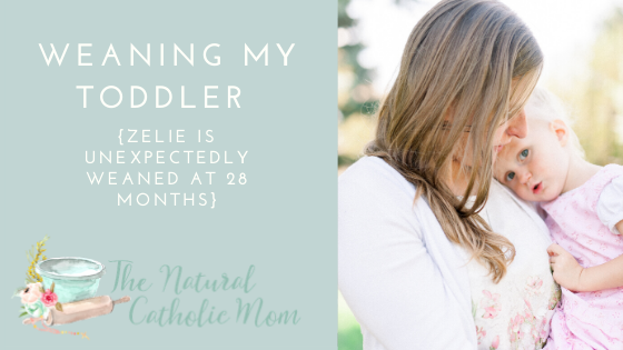 Weaning My Toddler