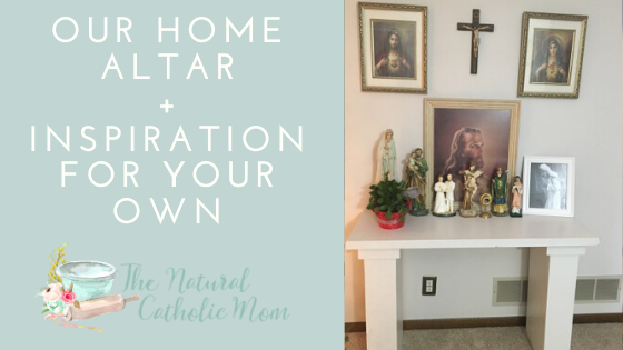 Our Home Altar + Inspiration for Your Own