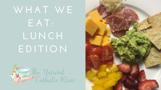 What We Eat: Lunch Edition