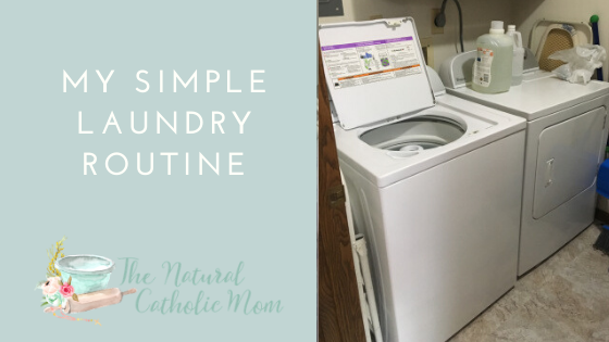 My Simple Laundry Routine