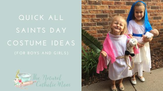 Quick All Saints Day CostumeIdeas